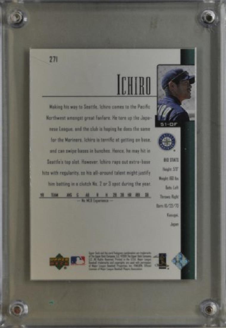 2001 Ichiro Suzuki Upper Deck Baseball Card - 2