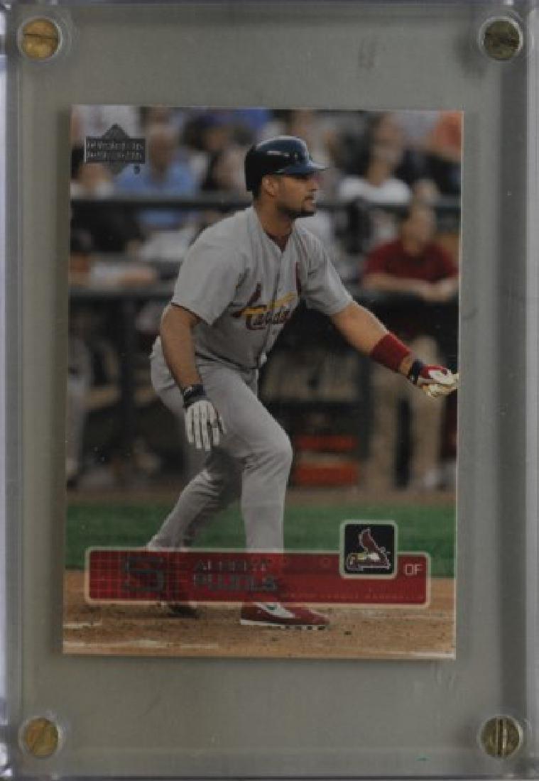 2003 Albert Pujols Upper Deck Baseball Card