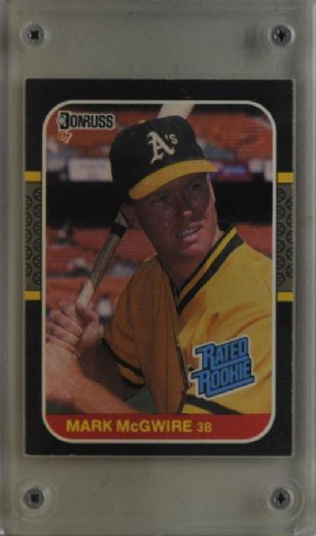 1987 Mark McGwire Donruss Baseball Card, No. 46
