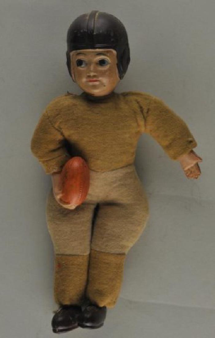 Vintage Georgia Tech Doll w/ Pin