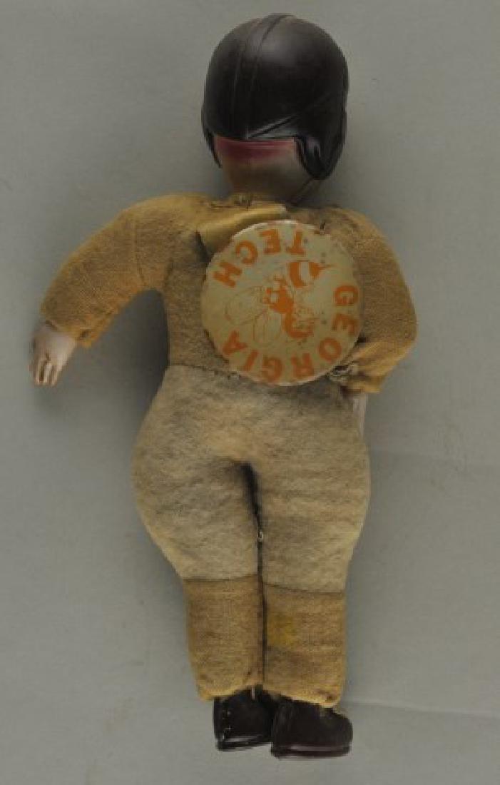 Vintage Georgia Tech Doll w/ Pin - 2