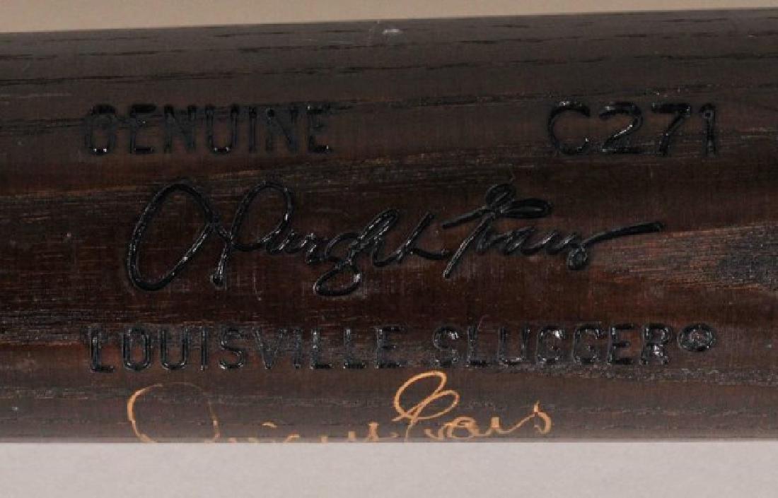 Signed Darrell Evans Game Used Bat - 2