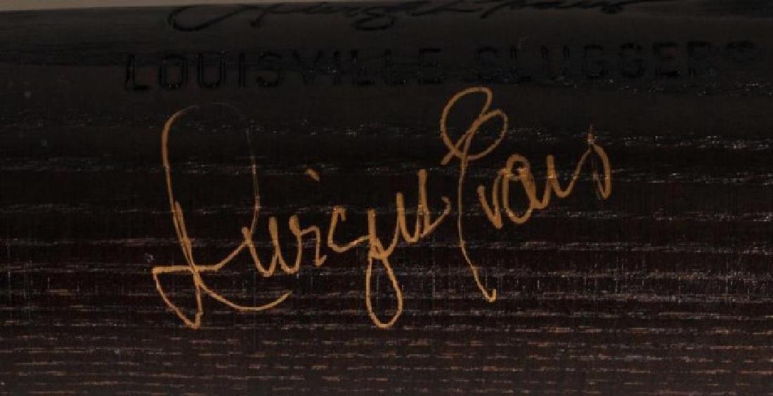 Signed Darrell Evans Game Used Bat - 3