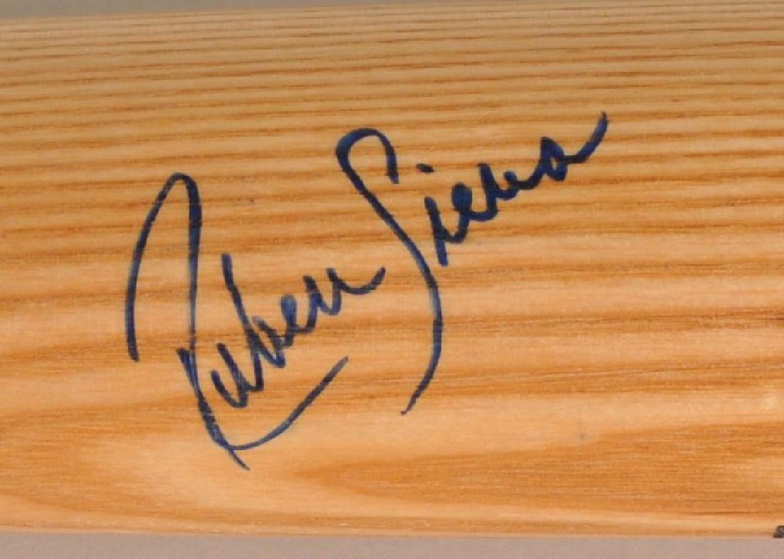 Signed Ruben Sierra Game Bat - 3