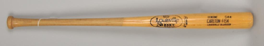 PSA -Authenticated Carlton Fisk Game Used Bat