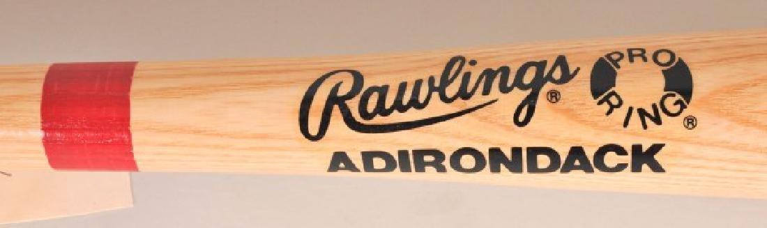 Signed Reggie Jackson Hall of Fame Bat - 4