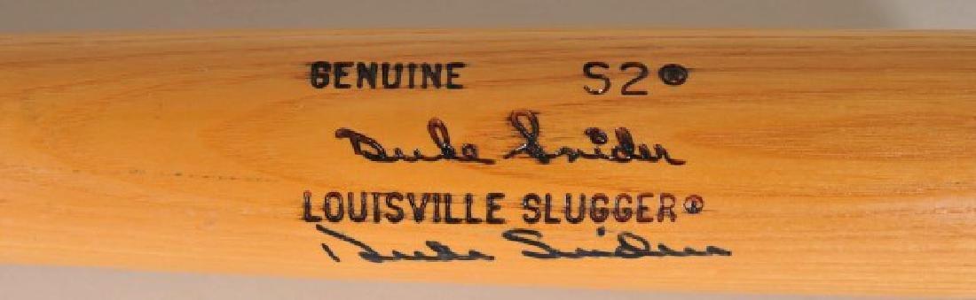 Signed Duke Snider Bat - 2