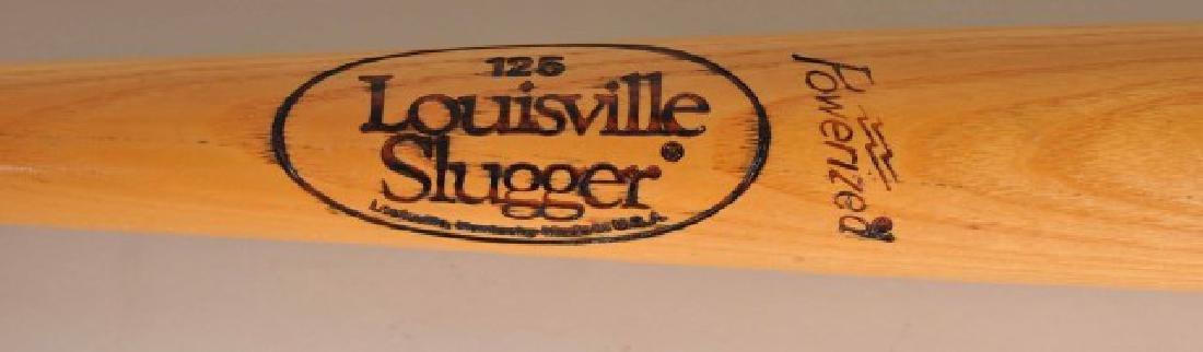 Signed Duke Snider Bat - 4