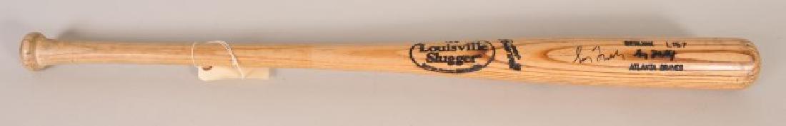 PSA -Authenticated Signed Greg Maddux Game Used Ba