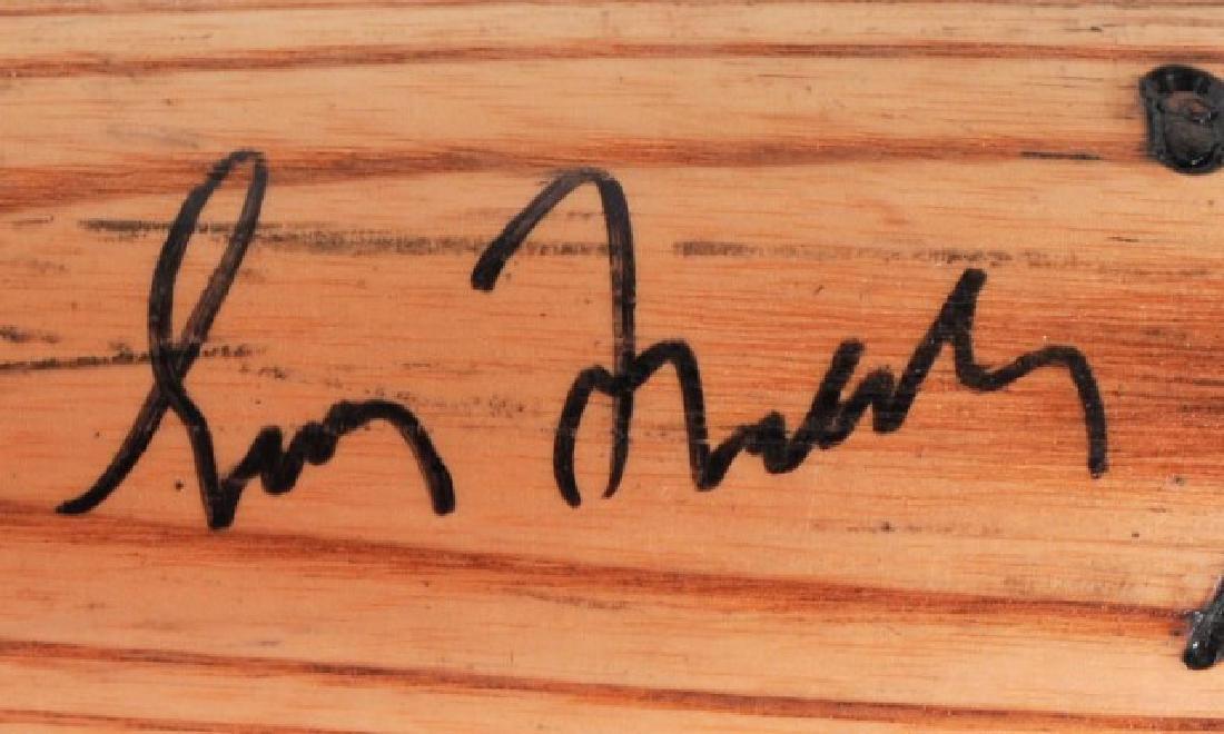 PSA -Authenticated Signed Greg Maddux Game Used Ba - 3