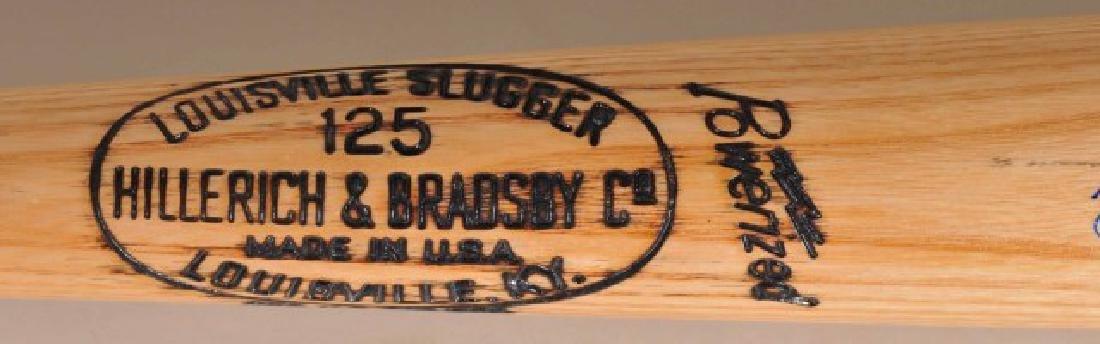 Signed Yogi Berra Bat - 4