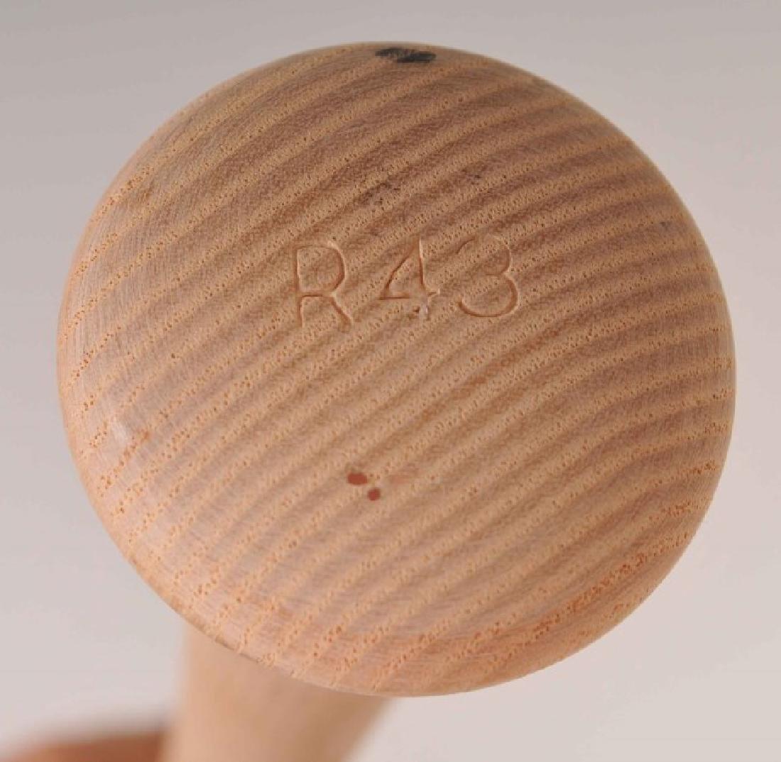 Signed Yogi Berra Bat - 5