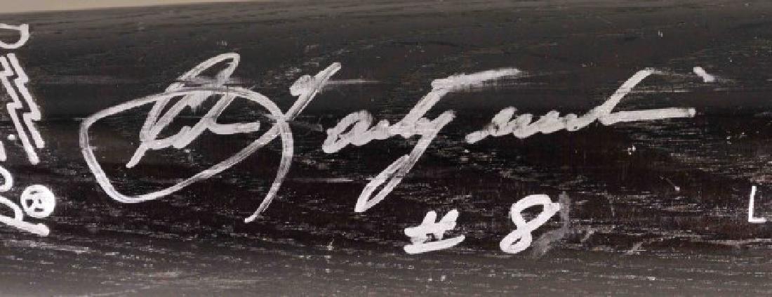 Signed Carl Yastrzemski Bat - 3