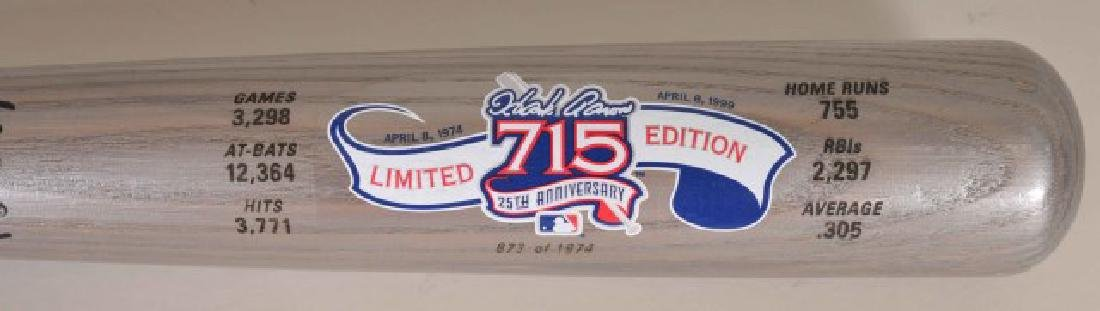 Hank Aaron Commemorative Bat - 2