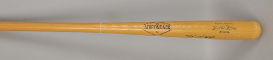 Signed Willie Mays Bat