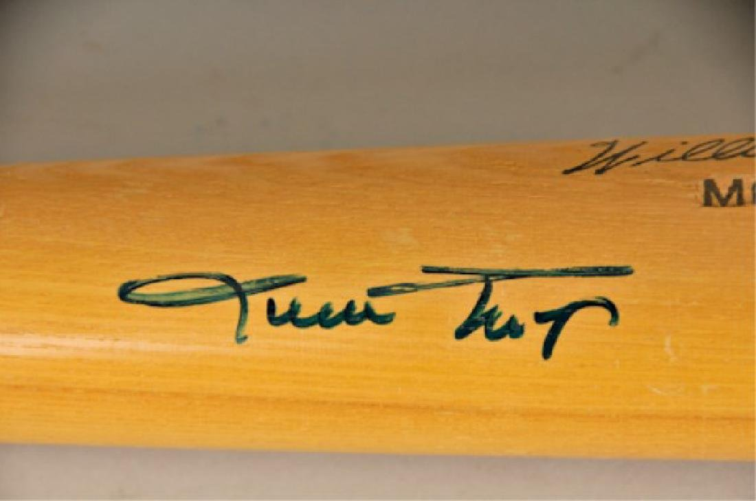 Signed Willie Mays Bat - 2