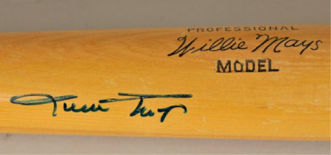 Signed Willie Mays Bat - 5