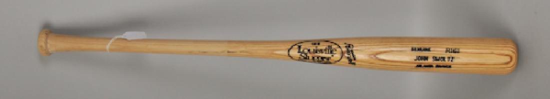 PSA -Authenticated John Smoltz Game Used Bat