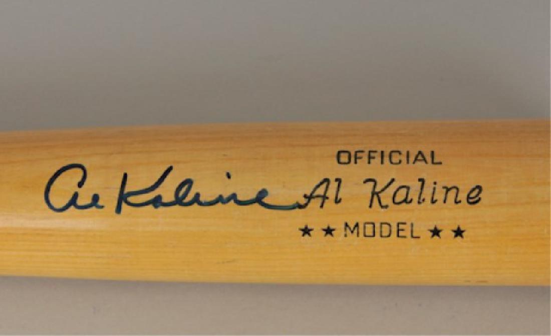 Signed Al Kaline Bat - 2