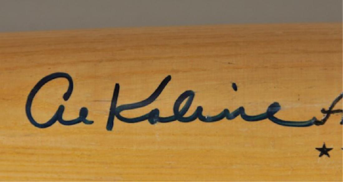 Signed Al Kaline Bat - 3