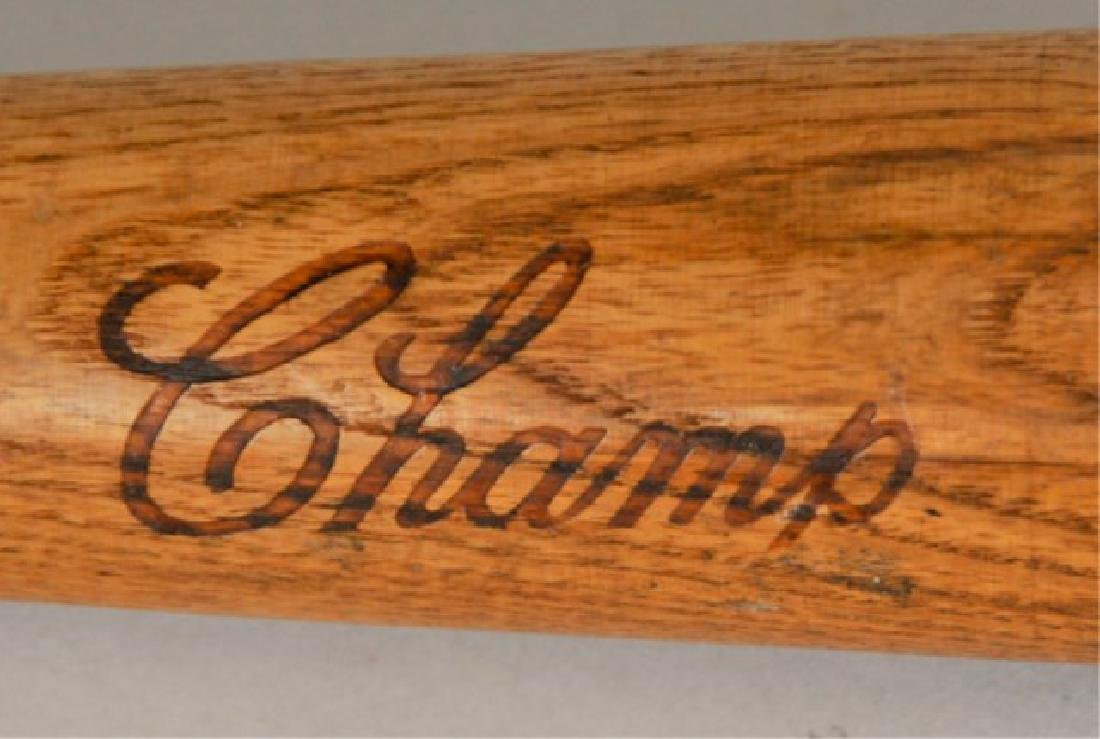 Signed Frank Thomas Bat - 3