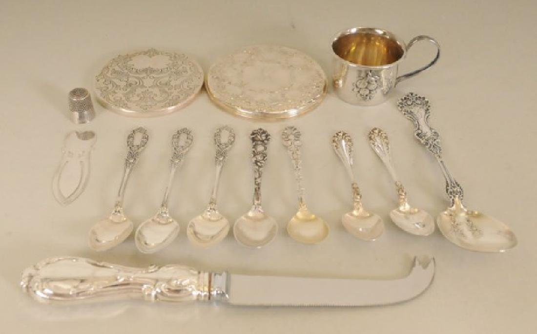 Lot of Miscellaneous Sterling Silver Articles