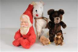 Schuco Yes/No Monkey, Other Vintage Stuffed Toys