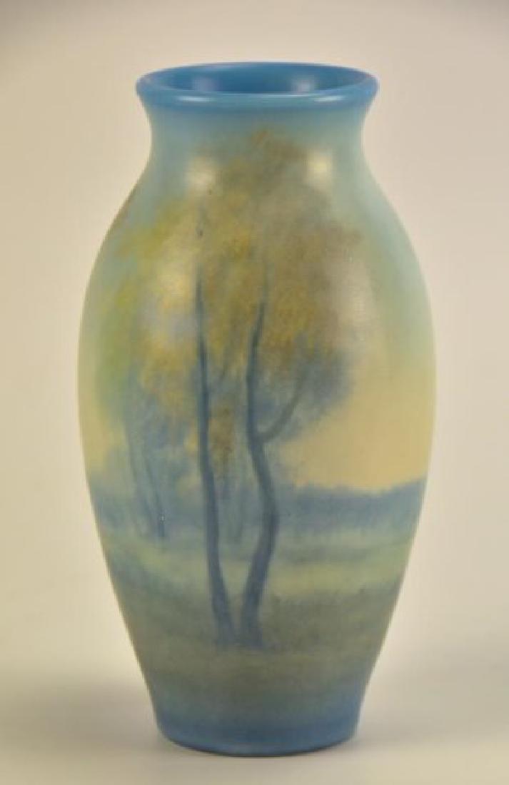 Rookwood Scenic Vellum Vase, Edward Diers