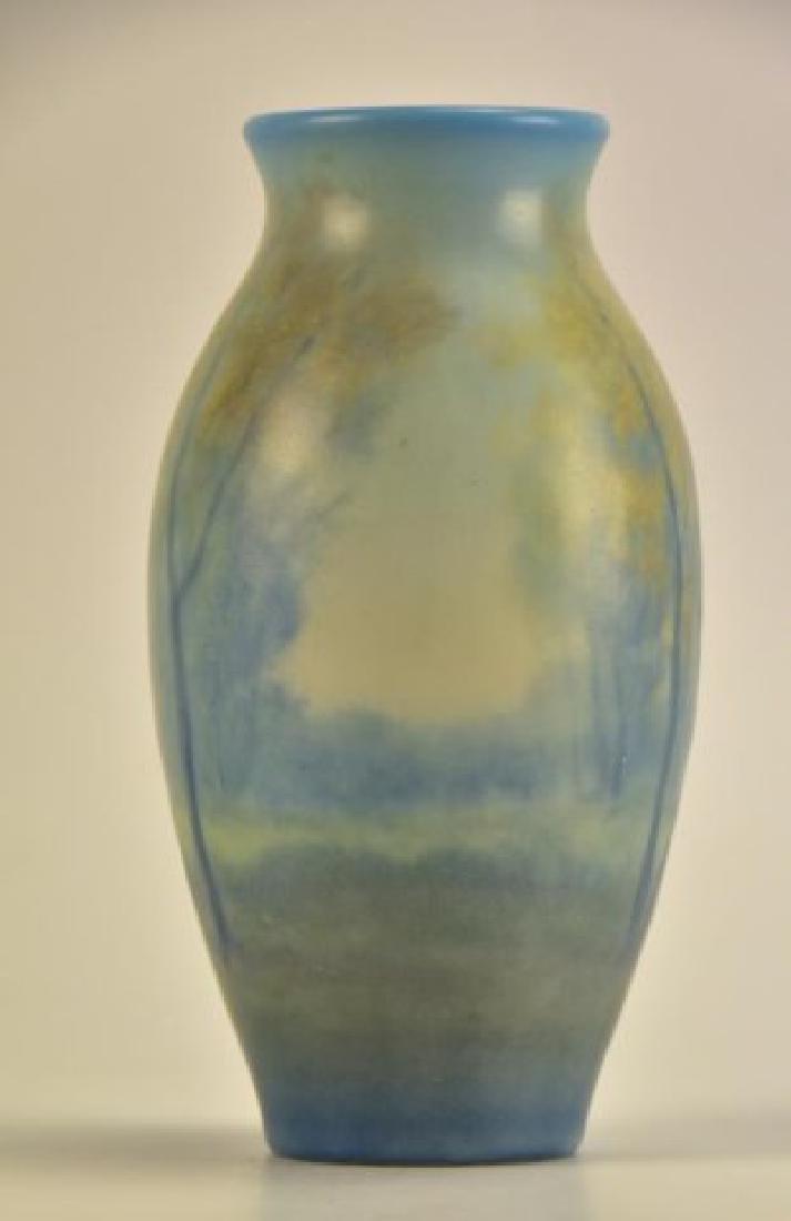 Rookwood Scenic Vellum Vase, Edward Diers - 5