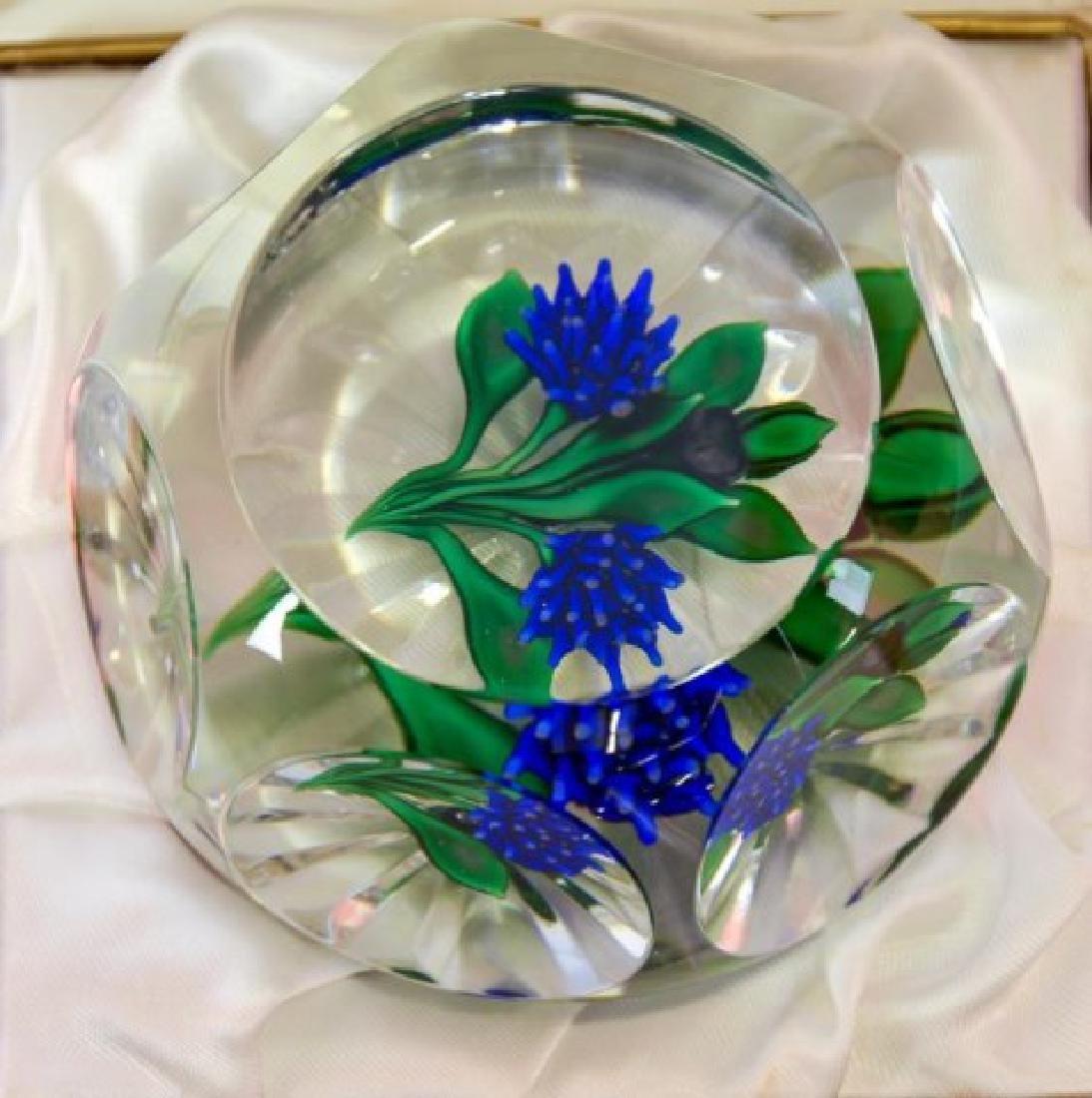 St. Louis Art Glass Paperweight - 2