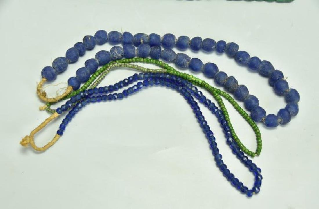 Lot of 10 African Trade Bead Necklaces - 2
