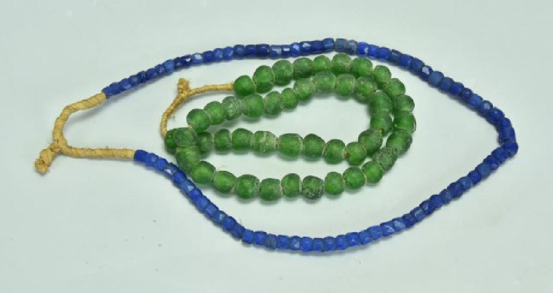 Lot of 10 African Trade Bead Necklaces - 5