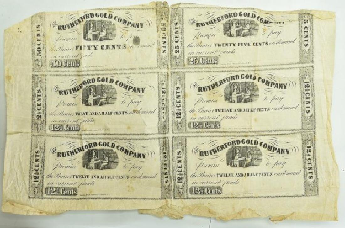North Carolina Gold Rush, Rutherford Gold Co. - 2