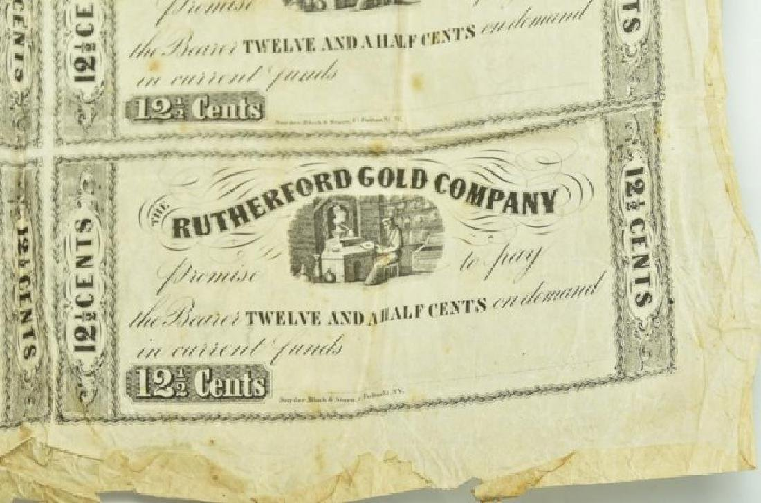 North Carolina Gold Rush, Rutherford Gold Co. - 3