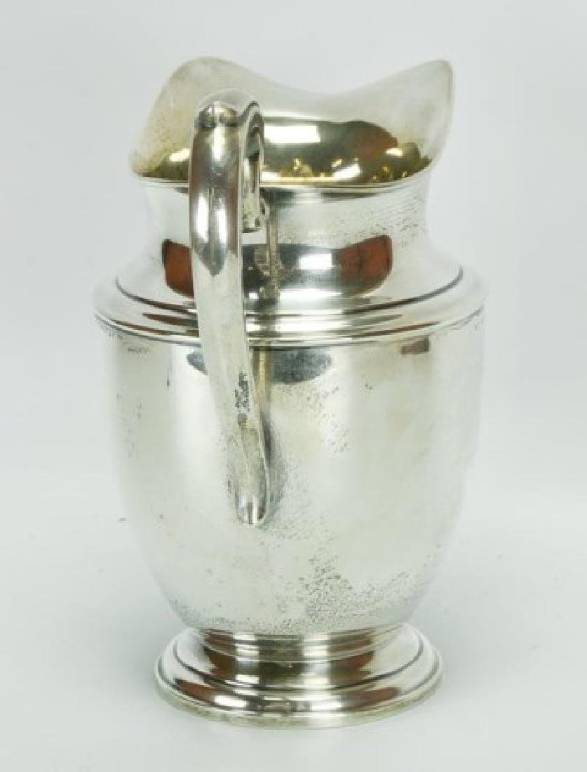 Sterling Silver Water Pitcher - 2