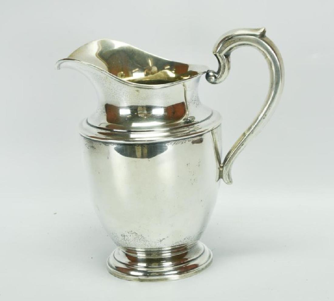 Sterling Silver Water Pitcher - 3