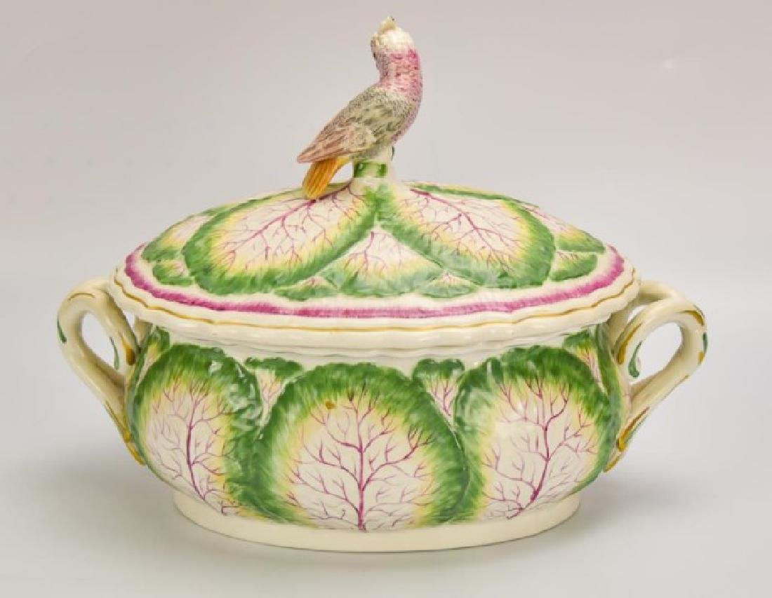 Mottahedeh Porcelain Covered Tureen - 3