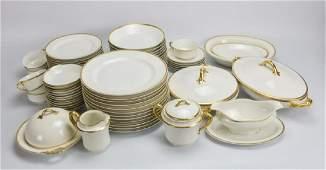 Haviland Gold Rim China Service