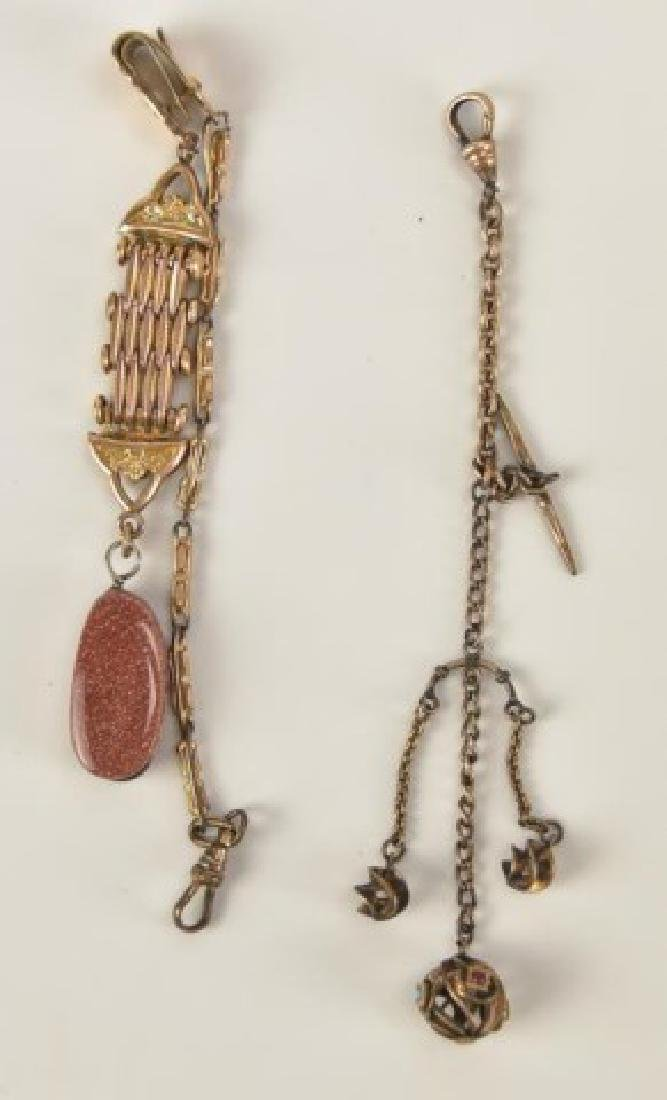 Assorted Pocket Watch Chains and Fobs - 6