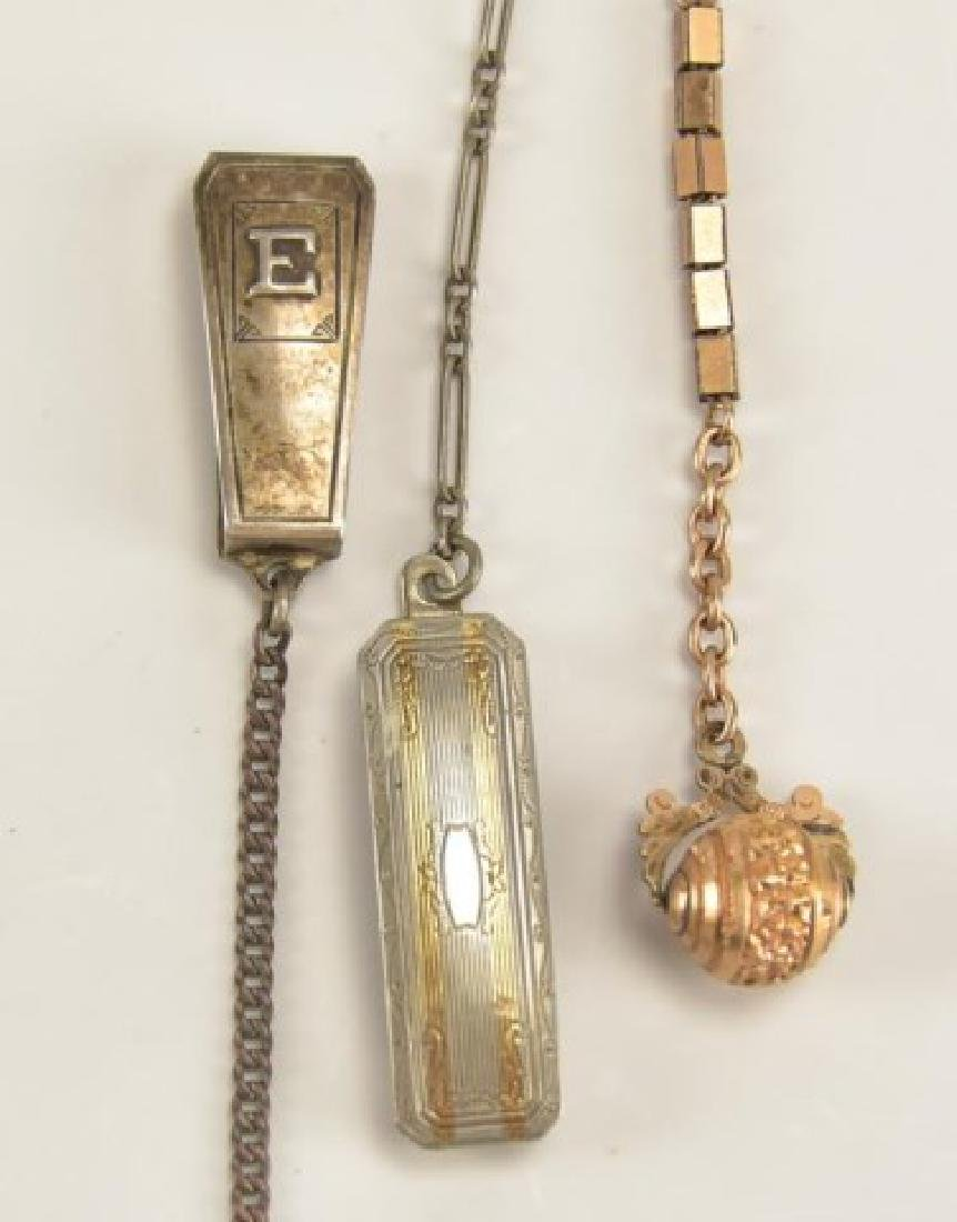 Assorted Pocket Watch Chains and Fobs - 8