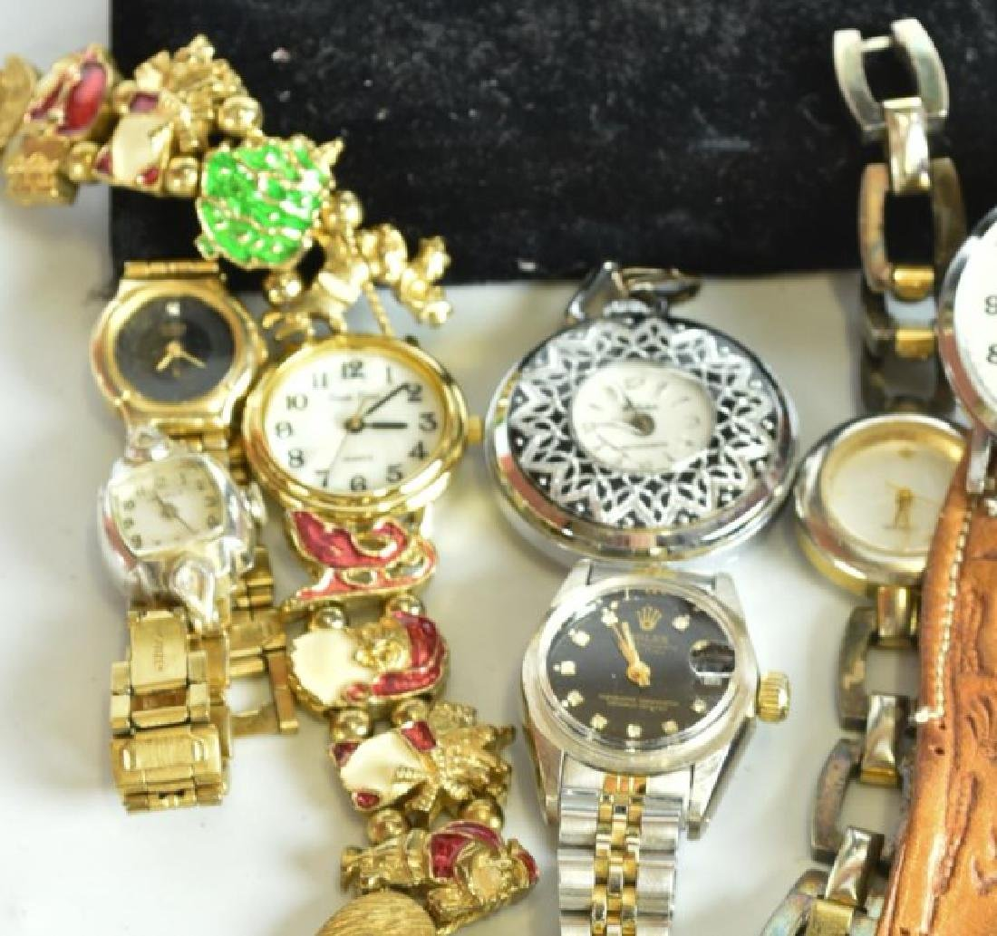 Elgin Pocket Watch & 23 Other Watches - 2