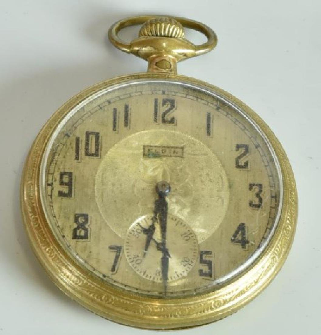 Elgin Pocket Watch & 23 Other Watches - 3