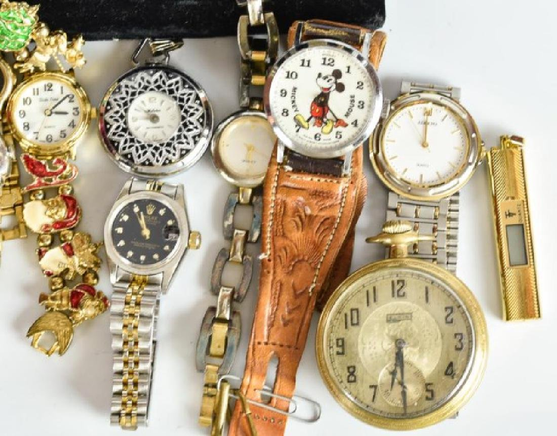 Elgin Pocket Watch & 23 Other Watches - 4