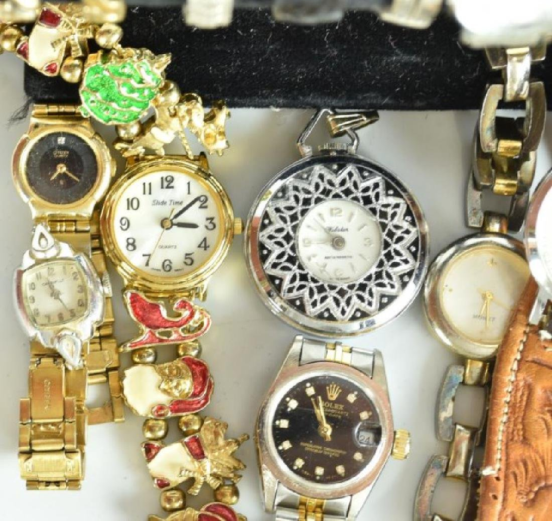 Elgin Pocket Watch & 23 Other Watches - 5