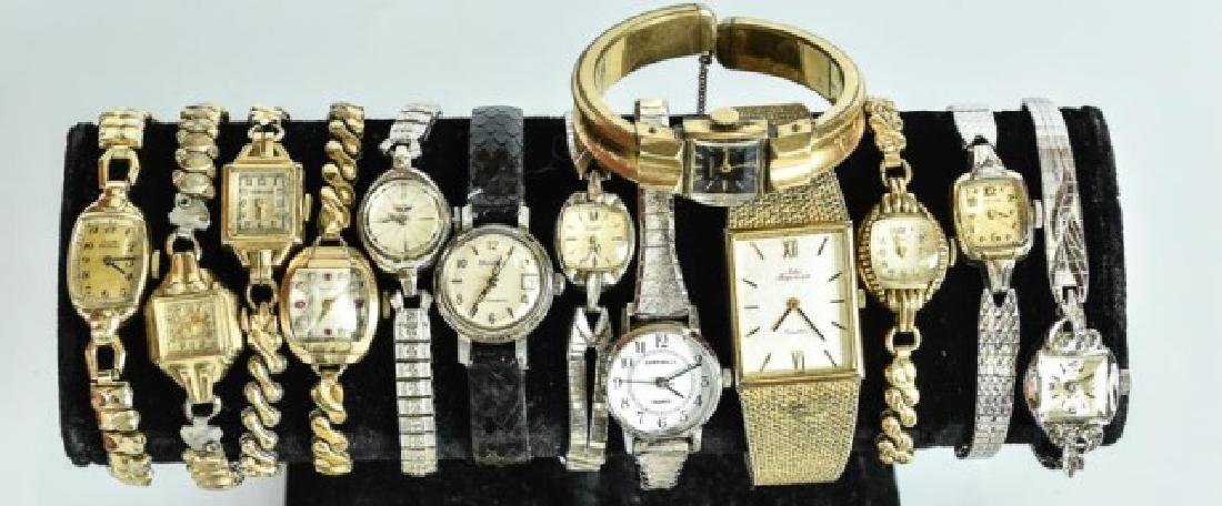 Elgin Pocket Watch & 23 Other Watches - 6