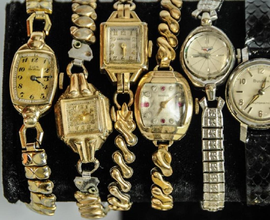 Elgin Pocket Watch & 23 Other Watches - 8