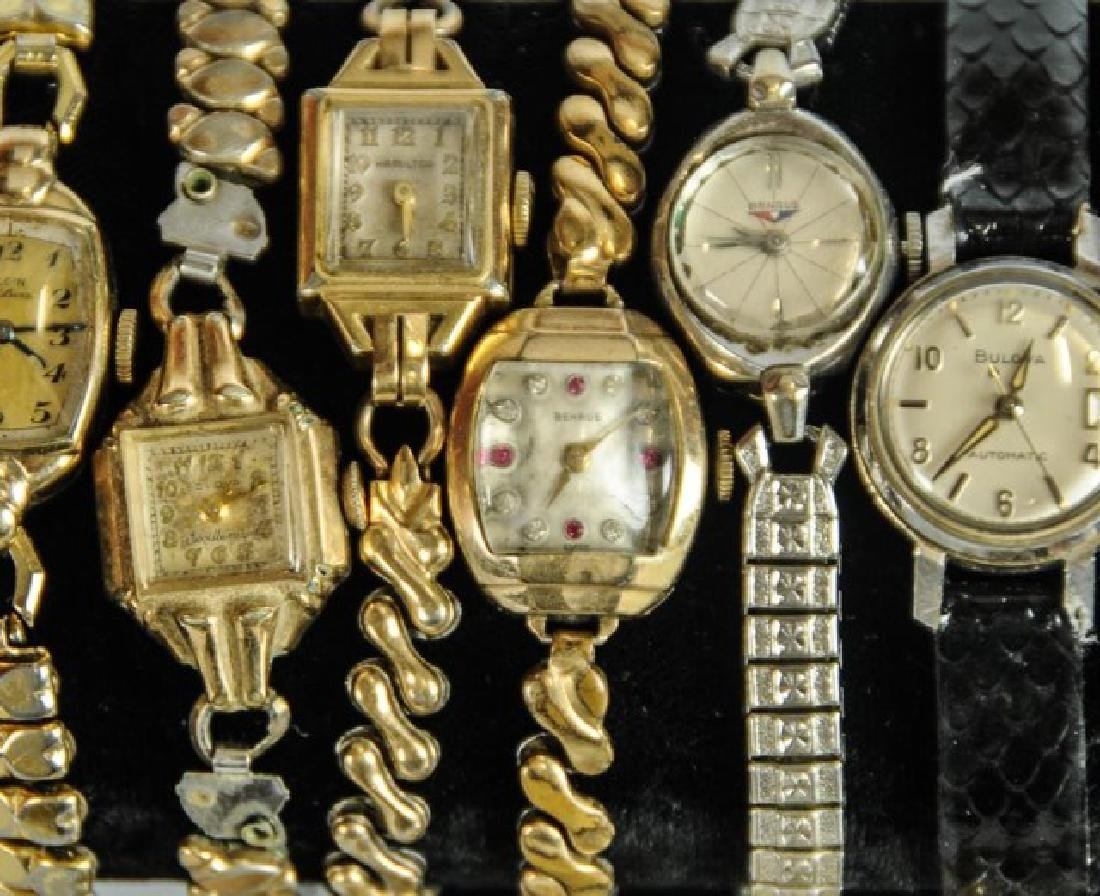 Elgin Pocket Watch & 23 Other Watches - 9