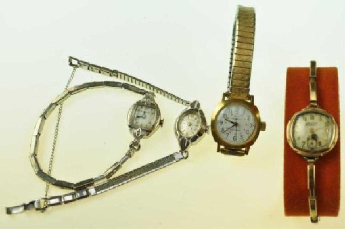 Four Vintage Ladies' Watches