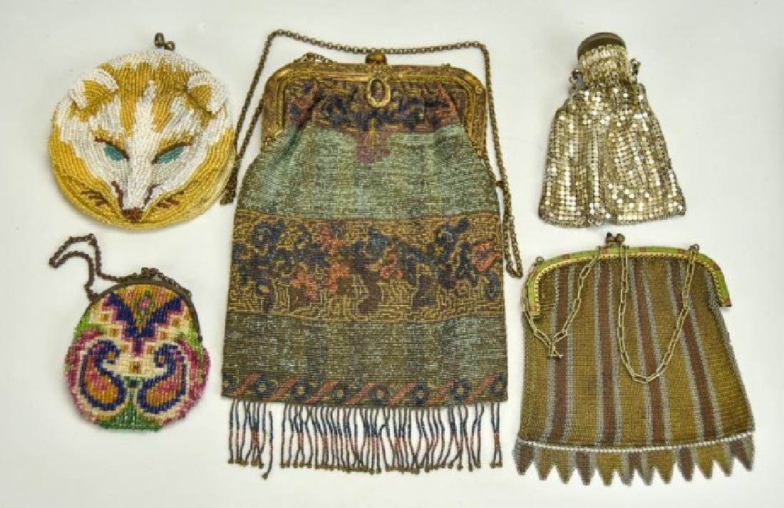 French, German, Other Antique Evening Bags