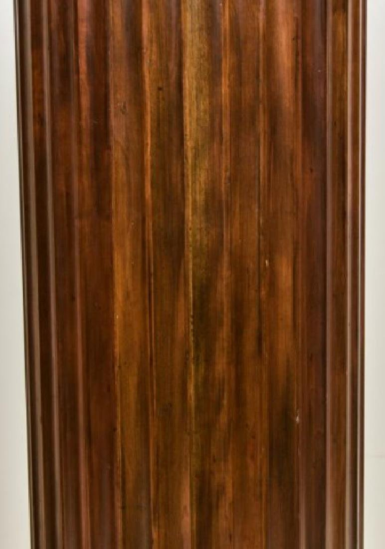 Pr. Baker Furniture Burled Walnut Pedestals - 8